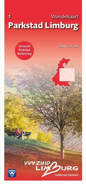 1 Wandelkaart Parkstad Limburg 1:25.000