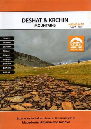 Deshat & Krchin Mtns 1:30k