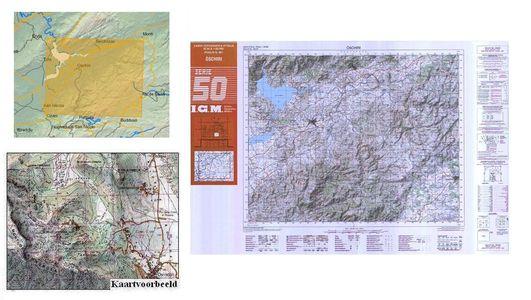 Igmi 461 Oschiri (sard) 1:50.000