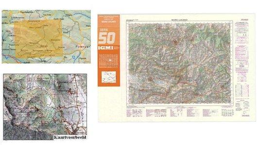 Igmi 469 Muro Lucano 1:50.000