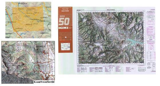 Igmi 505 Moliterno 1:50.000