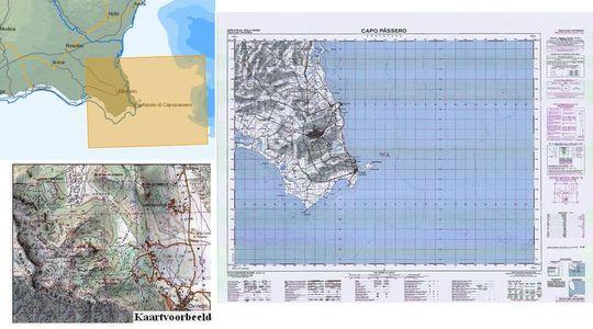 Igmi 652 Capo Passero 1:50.000