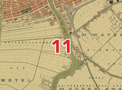 Amsterdam Blad 11 Scheltema Kaart