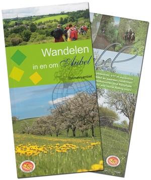 Aubel Ngi 1/13-1:25.000 Wandelkaart En Gids