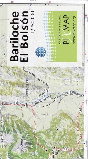 Bariloche El Bolson 1:250d Pixmap