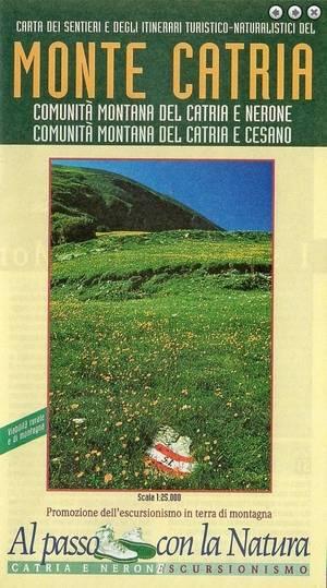 Monte Catria (marche) 1:25.000