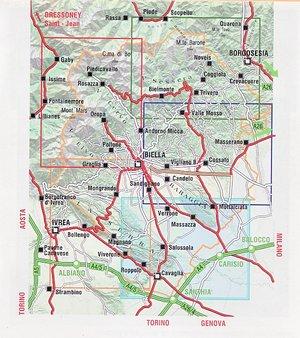 Il Biellese 5 Sud-orientale 1:25.000