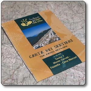 Monte Cervati 1:25.000 Pn Del Cilento