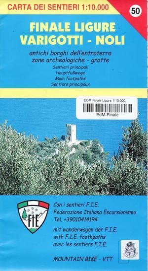 Finale Ligure Varigotti Noli 1:10d Edm 1:25.000