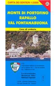 Monte Di Portofino-rapallo 1:25.000 Edm Ge2