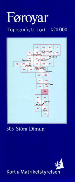 Foroyar 505 Stora Dimun 1:20d