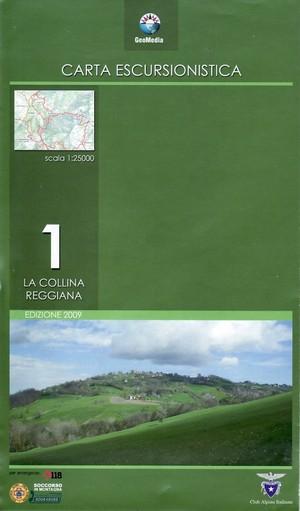 Collina Reggiana F.1 1:25.000