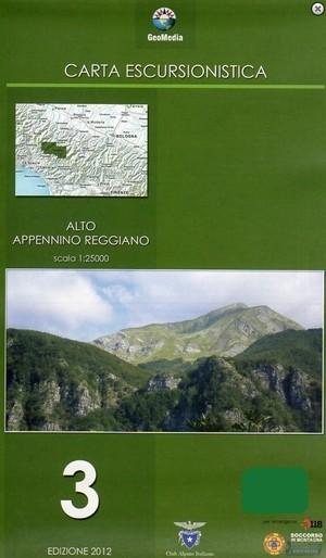 Alto Appennino Reggiano F.3 1:25.000