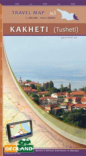 1 Kakheti Tusheti 1:200d Geoland