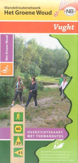 Wandelkaart Groene Woud Vught