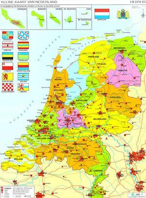 Nederland Klein Op Houten Stokjes