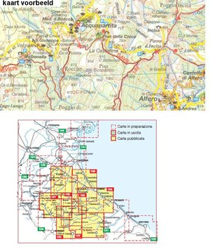Iga124 Colline Di Rimini 1:50.000