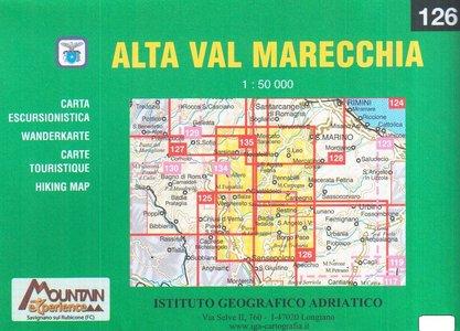 Iga126 Alta Val Marecchia 1:50.000