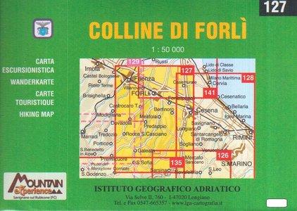 Iga127 Le Colline Di Forli 1:25.000