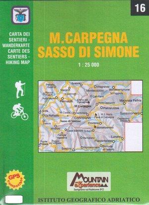 Iga16 Monte Carpegna Sasso Di Simone 1:25.000