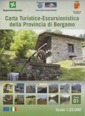 01 Provincia Bergamo 1:25.000 Ingenia