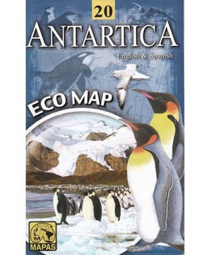 Antarctica Eco Map Jlm