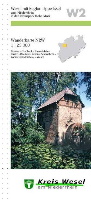 W2 Weel Mit Region Lippe-issel 1:25.000