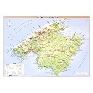 Relief Mallorca 1:400d -31x21 Cm