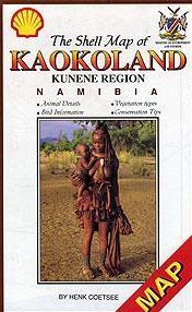 Kaokoland And Kunene Region Shell Map
