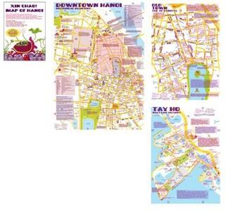 Xin Chao's Map Of Hanoi Nancy Chandler