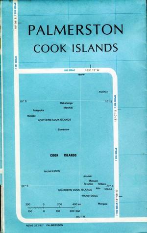 Palmerston (cook Islands) 1:25.000