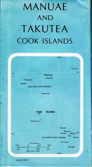 Manuae And Takutea (cook Islands) 1:25.000