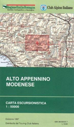 Alto Appennino Modenese 1:50.000