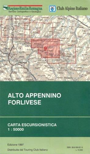 Alto Appennino Forlivese 1:50.000