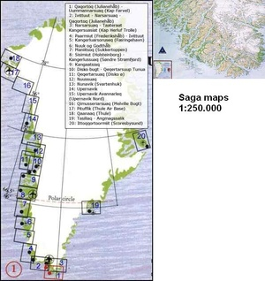01 Qaqortoq/uummannarsuaq 1:250d Saga