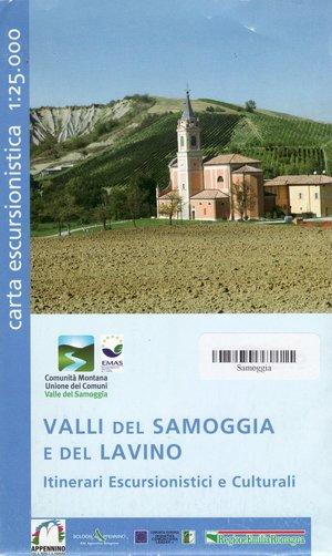 Valli Del, Samoggia E Del Lavino 1:25.000
