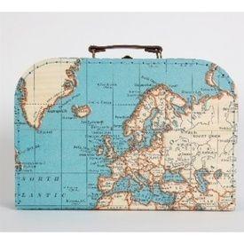Koffer Wereld Large Sass Belle