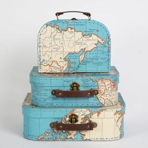 Koffer Wereld Medium Sass Belle