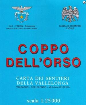 Coppo Dell'orso, Della Vallelonga 1:25.000