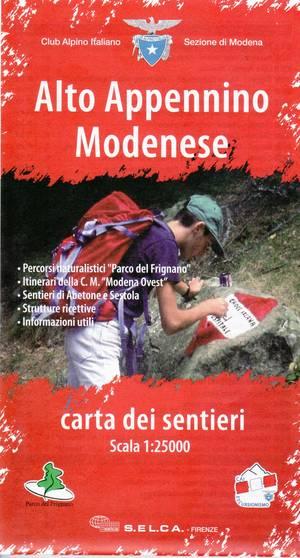 Alto Appennino Modenese 1:25.000