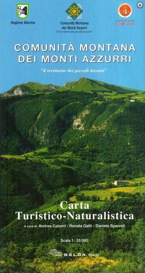 Cm Dei Monti Azzurri 1:35.000