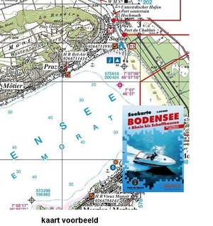 Bodensee Seekarte 1:50.000 S&f