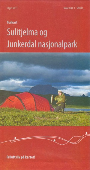 Sulitjelma Og Junkerdal NP 1:50.000