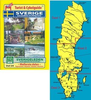 Sverigeleden Mellersta 2a&2b Cykelguide