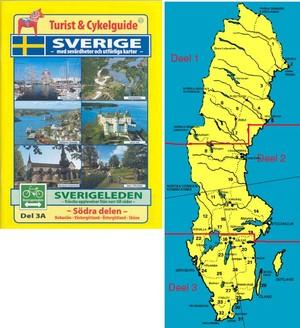 Sverigeleden Södra 3a&3b Cykelguide