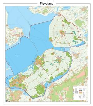 Flevoland Provincie Plano Papier
