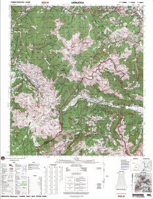 Balkan Top Kaart 1:50.000 M709 Wgs84