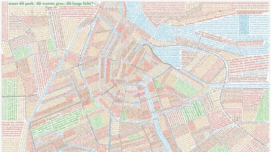 Leesbaar Amsterdam - 1:10.000