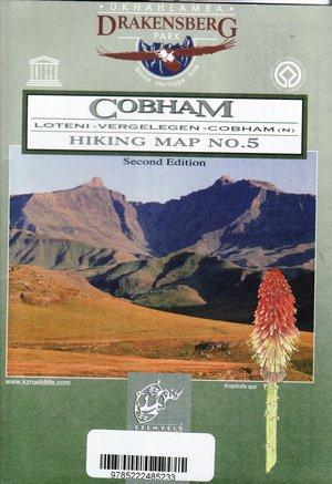 Cobham 1:50.000 Hiking Map 5 Drakensberg