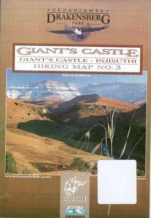 Giants Castle 1:50.000 Hiking Map 3
